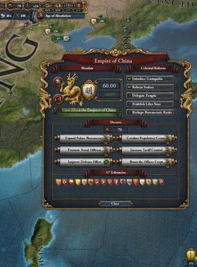 Europa Universalis 4: Mandate Of Heaven Key Art