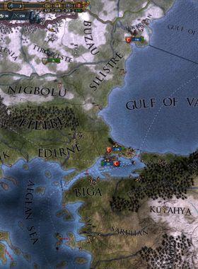 Europa Universalis 4: Mare Nostrum Key Art