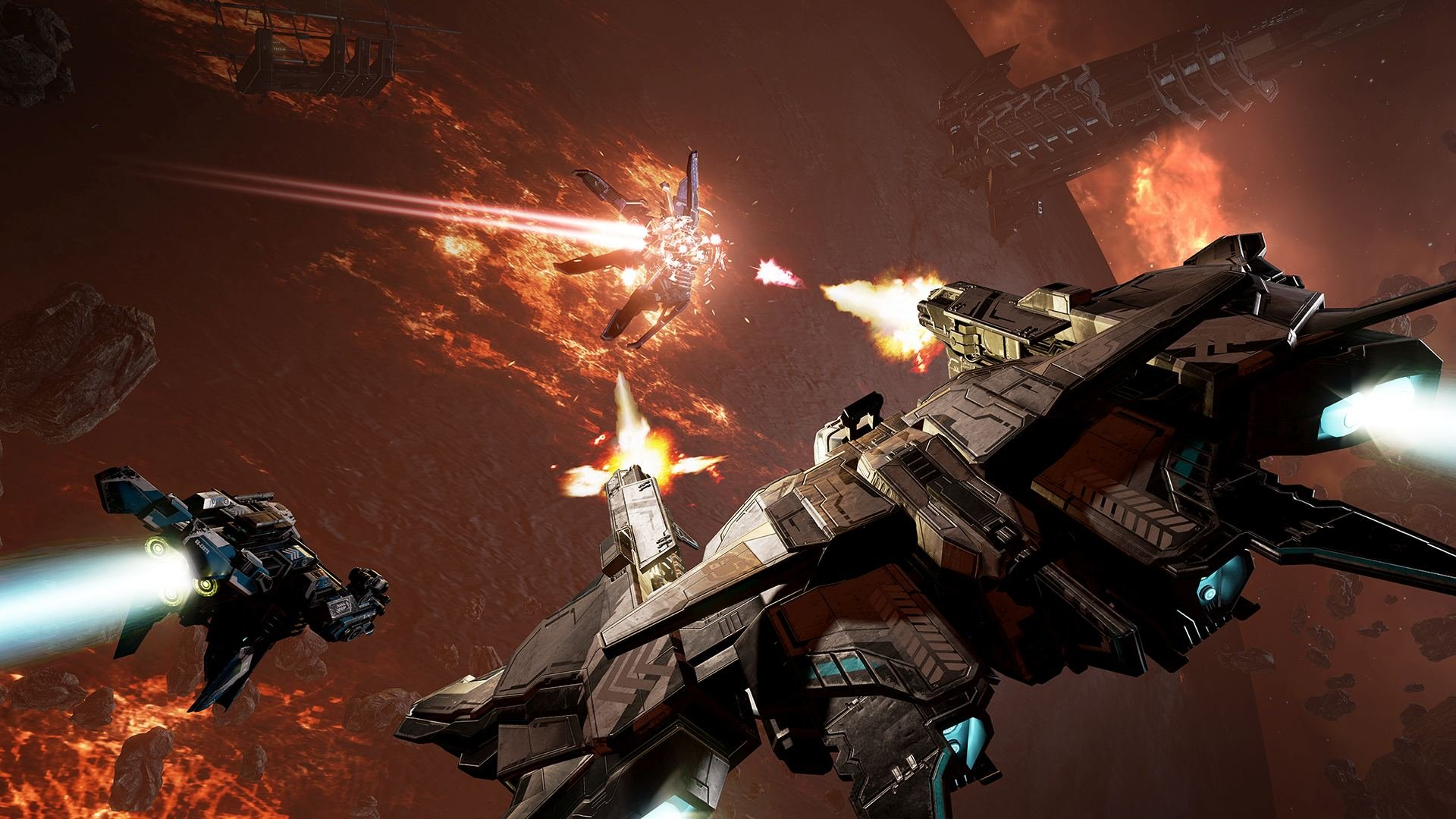 EVE: Valkyrie – Warzone Video
