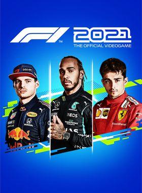 F1 2021 Key Art
