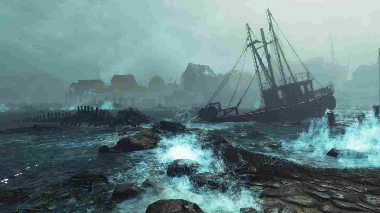 Fallout 4: Far Harbor Background Image
