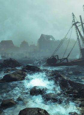 Fallout 4: Far Harbor Key Art