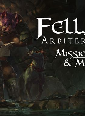 Fell Seal: Arbiter's Mark - Missions and Monsters Key Art