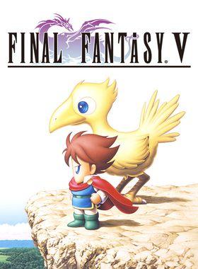 Final Fantasy 5 Key Art