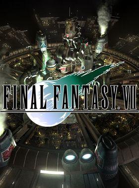 Final Fantasy 7 Key Art