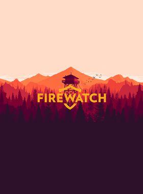 Firewatch Key Art