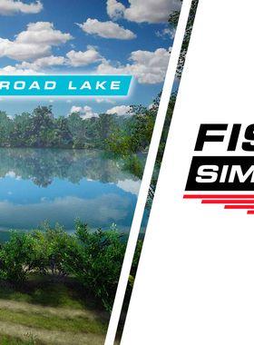 Fishing Sim World: Pro Tour - Gigantica Road Lake Key Art