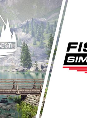 Fishing Sim World: Pro Tour - Jezioro Bestii Key Art