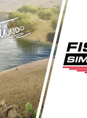 Fishing Sim World: Pro Tour - Lago Del Mundo Key Art
