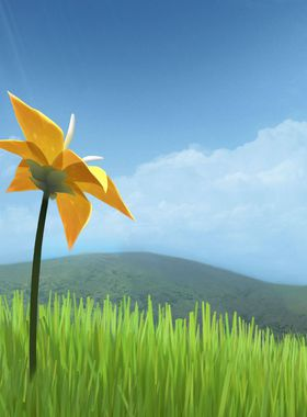 Flower Key Art