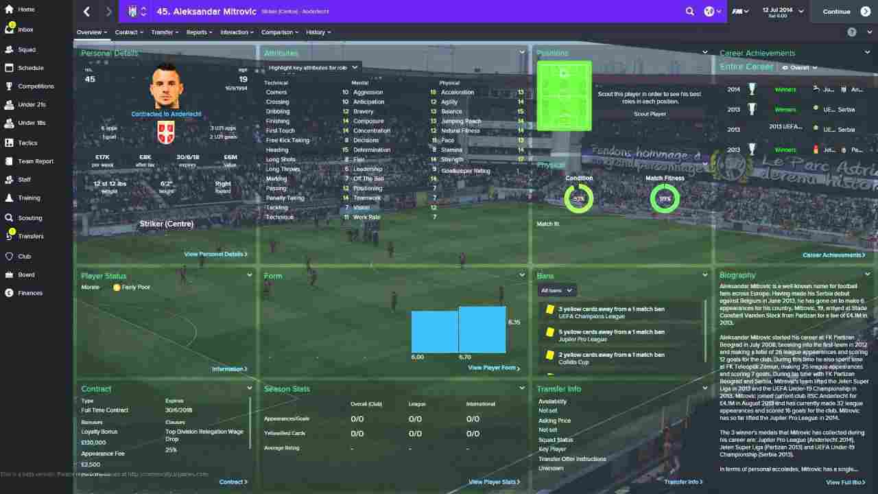 Football Manager 2015 Background Image