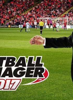 Football Manager 2017 Key Art