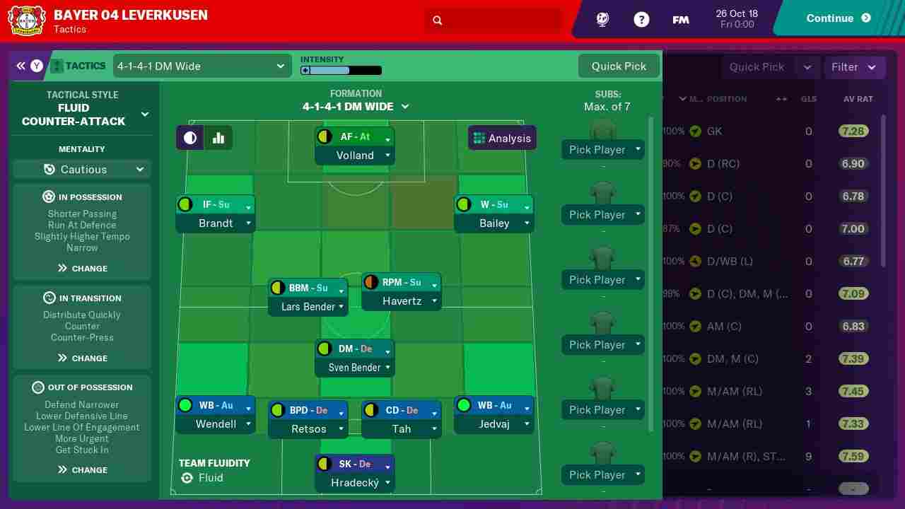 Football Manager 2019 Touch Background Image