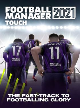 Football Manager 2021 Touch Key Art