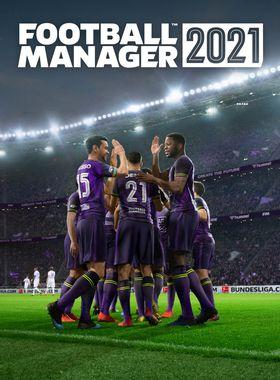 Football Manager 2021 Key Art