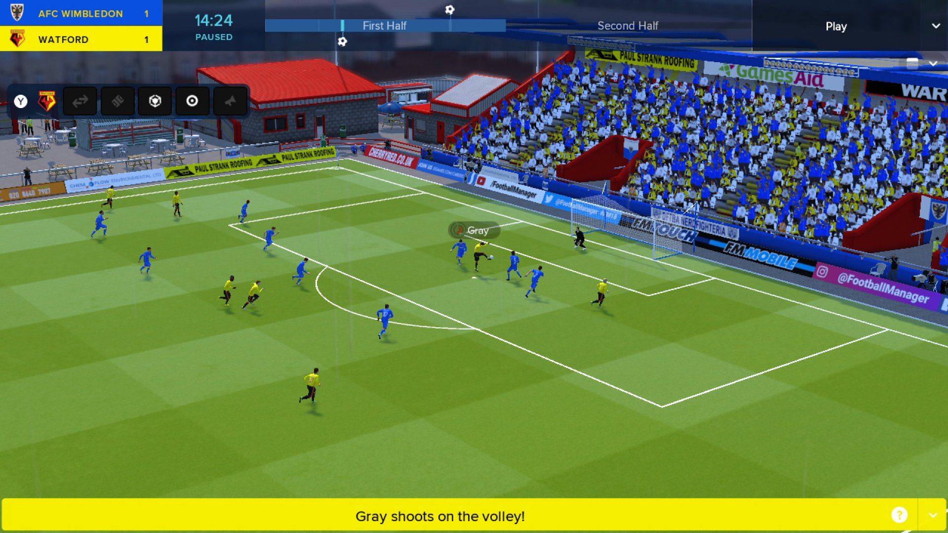 Football Manager Touch 2018 Video