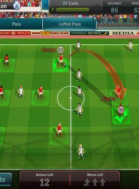 Football, Tactics, and Glory Key Art