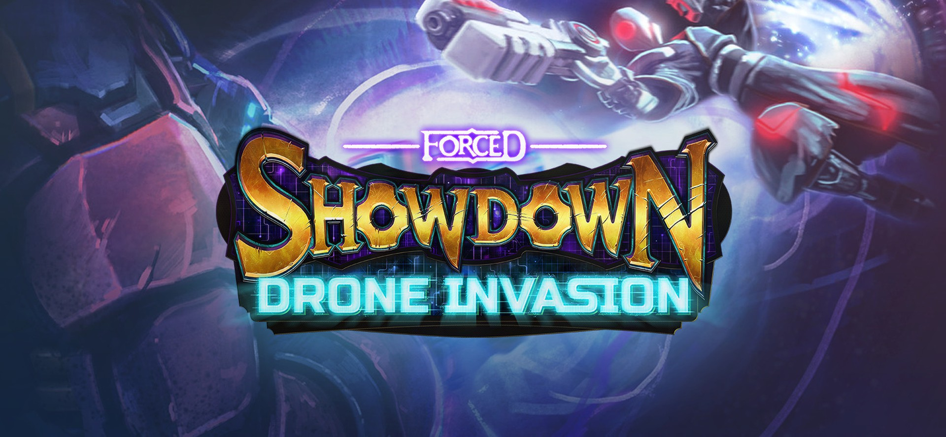 Forced Showdown - Drone Invasion