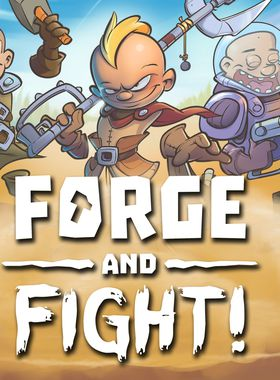 Forge and Fight! Key Art