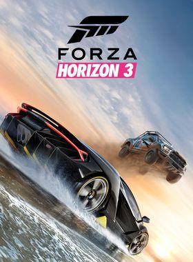 Forza Horizon 3 Key Art