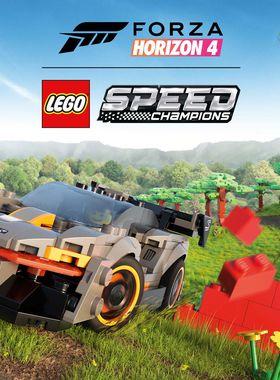 Forza Horizon 4: LEGO Speed Champions Key Art