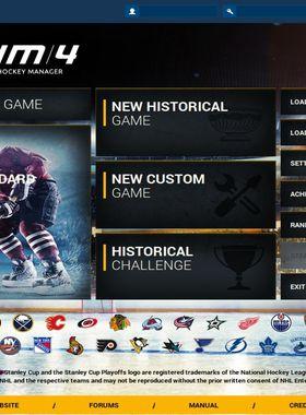 Franchise Hockey Manager 4 Key Art