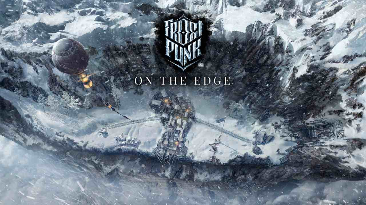 Frostpunk: On The Edge Key Art