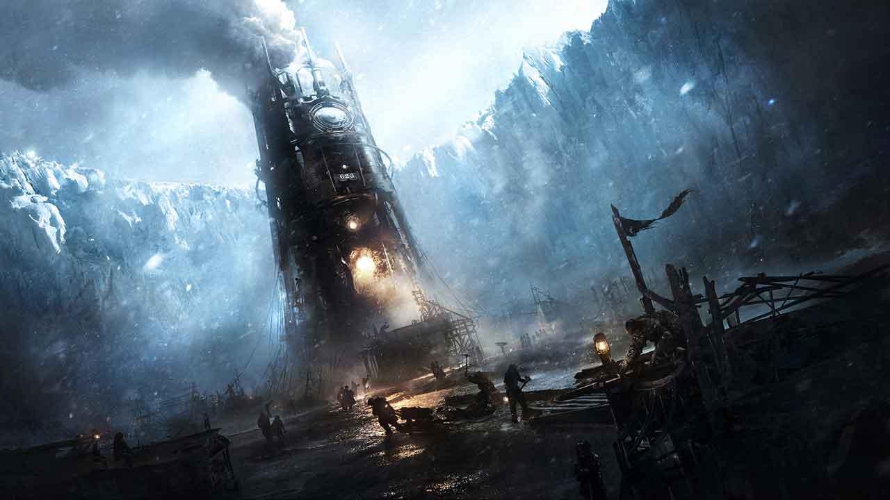 Frostpunk Background Image