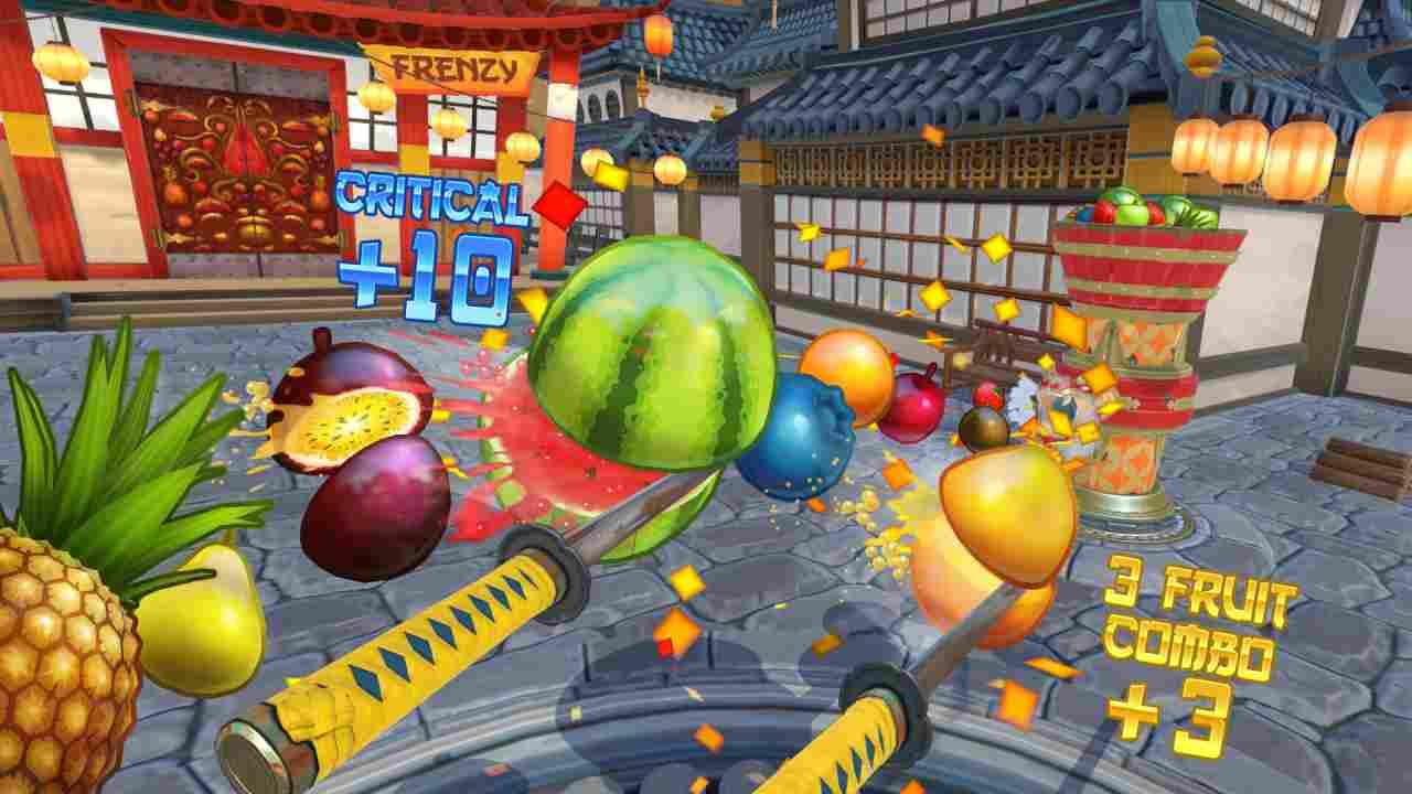 Fruit Ninja VR Background Image
