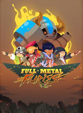 Full Metal Furies Key Art