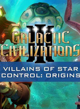 Galactic Civilizations 3 - Villains of Star Control: Origins Key Art