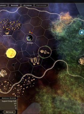 Galactic Civilizations 3: Crusade Key Art