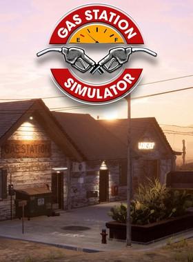 Gas Station Simulator Key Art