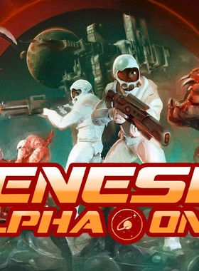 Genesis Alpha One Key Art