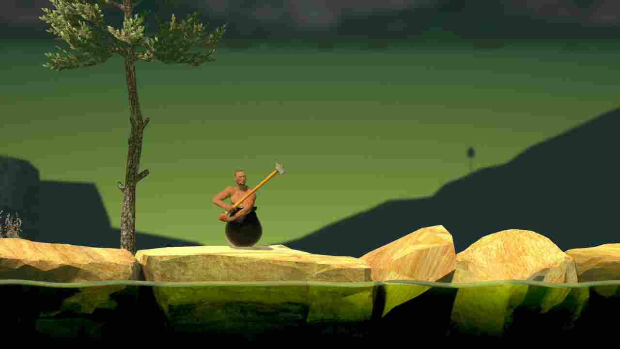 Getting Over it with Bennett Foddy Background Image