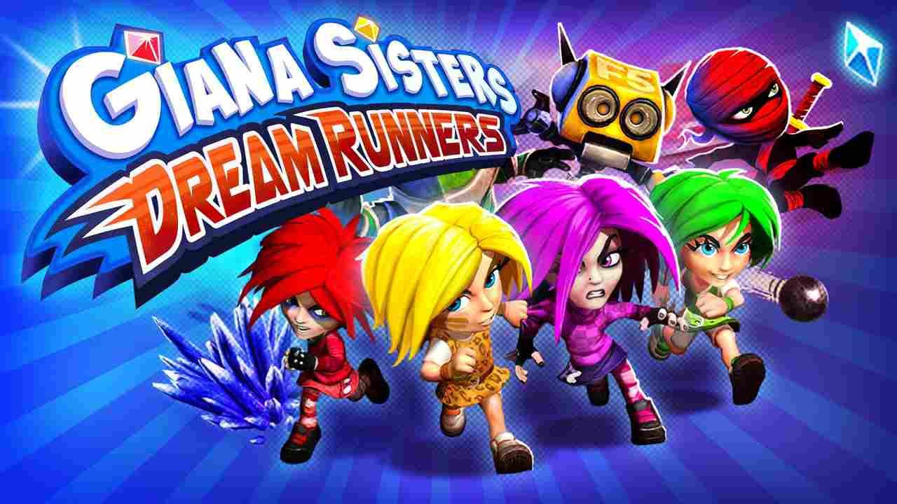 Giana Sisters: Dream Runners Background Image