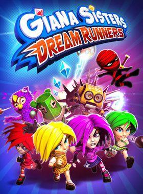 Giana Sisters: Dream Runners Key Art