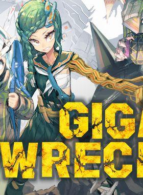 Giga Wrecker Key Art