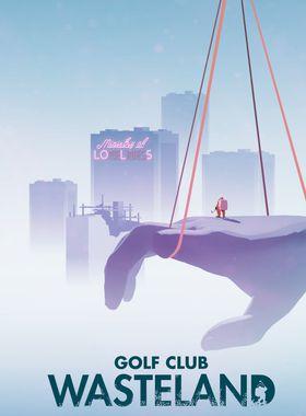 Golf Club: Wasteland Key Art
