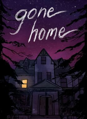 Gone Home Key Art