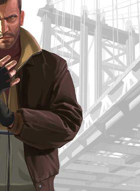 Grand Theft Auto 4 Key Art