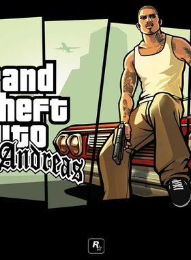 Grand Theft Auto: San Andreas Key Art