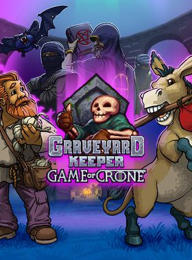 Graveyard Keeper - Game Of Crone Key Art