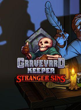 Graveyard Keeper - Stranger Sins Key Art