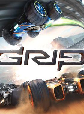 GRIP: Combat Racing Key Art