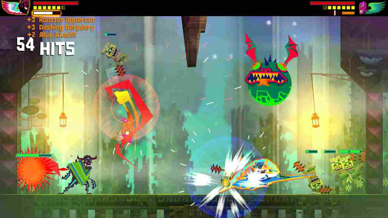 Guacamelee! Super Turbo Championship Edition Background Image