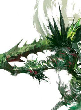 Guild Wars 2: Heart of Thorns Key Art