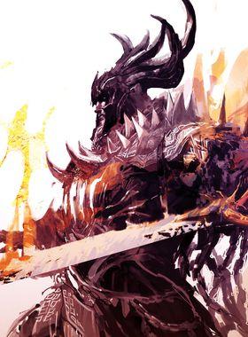 Guild Wars 2: Path of Fire Key Art
