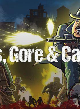Guns, Gore & Cannoli Key Art