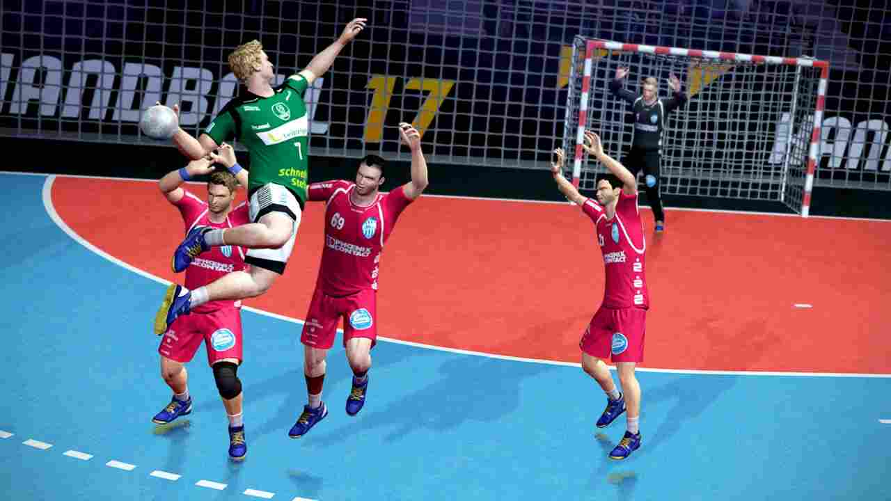 Handball 17 Background Image